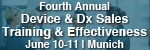 4th Annual European Medical Device and Diagnostic Sales Training and Effectiveness Conference